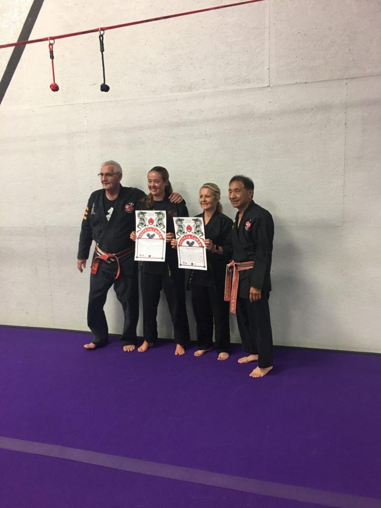 Karate Test Award Certificates