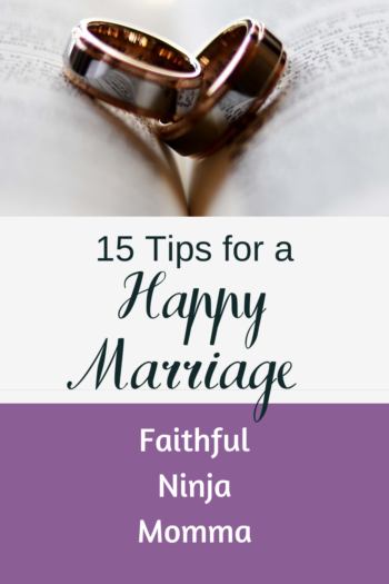 15 Tips for A Successful Marriage