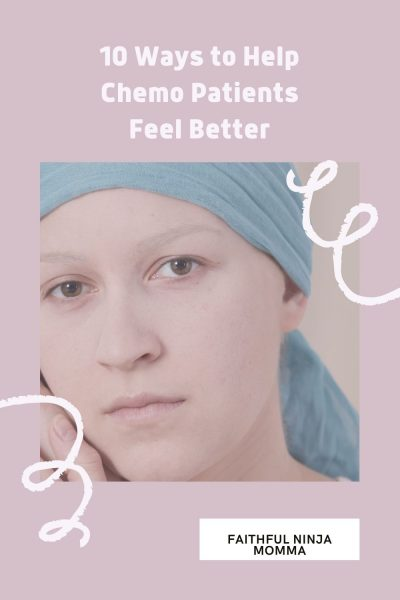 Make chemo patients feel better