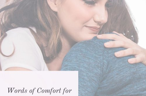 Comforting Words for Cancer Patients
